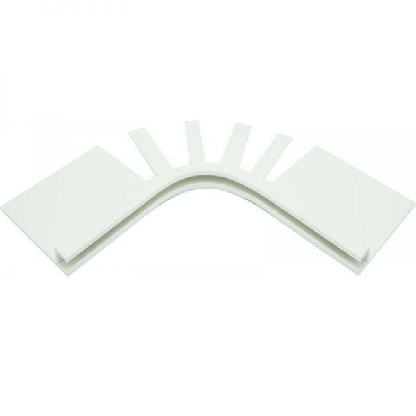 PVC Befestigungsleiste Keilbiese 90° Ecken