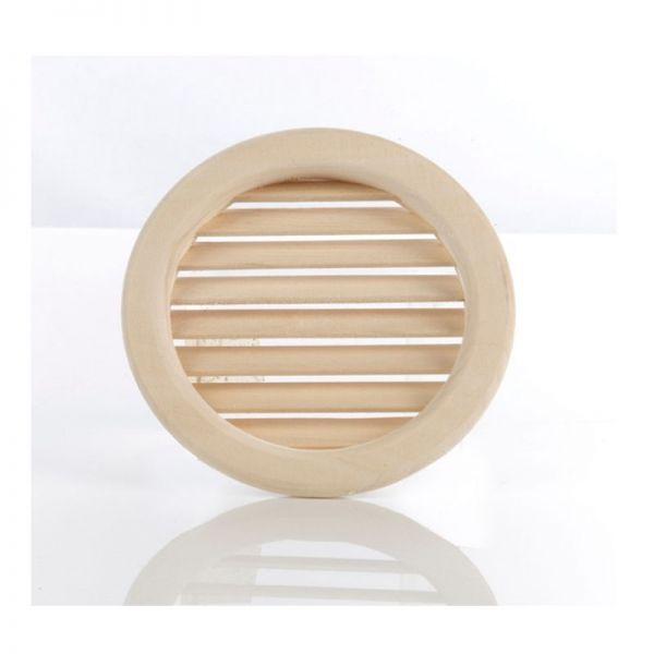Sauna Lüftungs- Abluftgitter rund