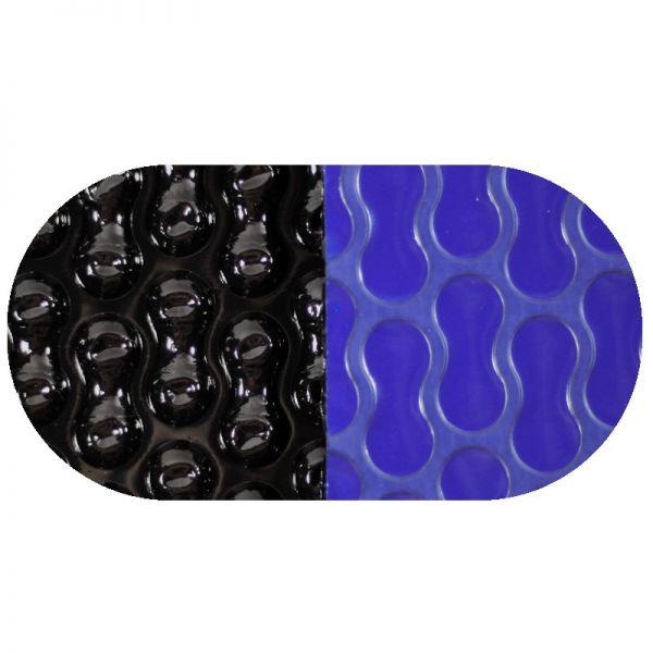 Solarfolie blau/schwarz GeoBubble 400 mµ Oval