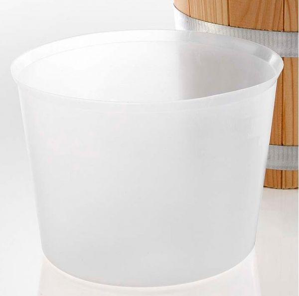 Kunststoff Einsatz 5 L Saunakübel